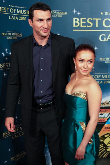 Hayden Panettiere and Vladimir Klitschko